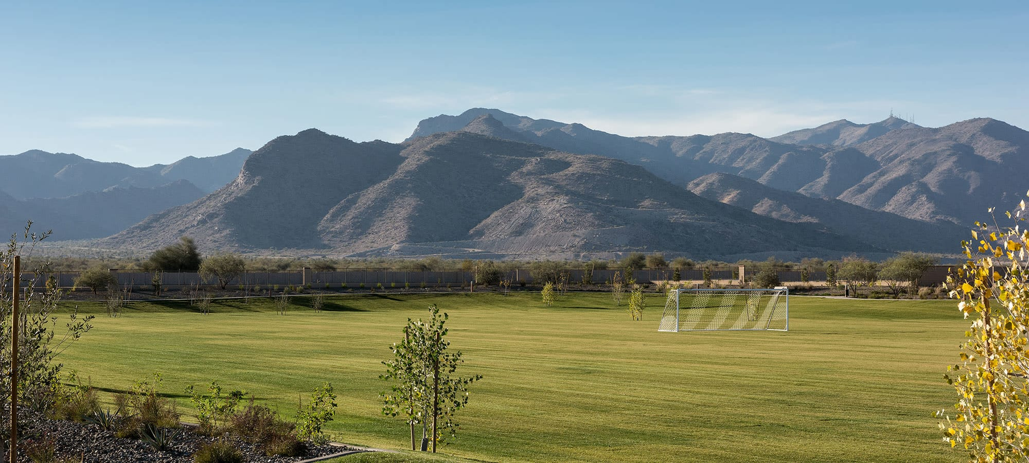 View of White Tank Mountains at Las Casas at Windrose in Litchfield Park, Arizona