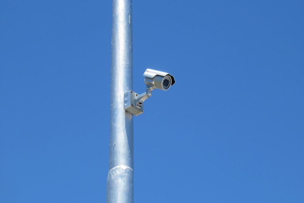 Security camera at Springtown Self Storage