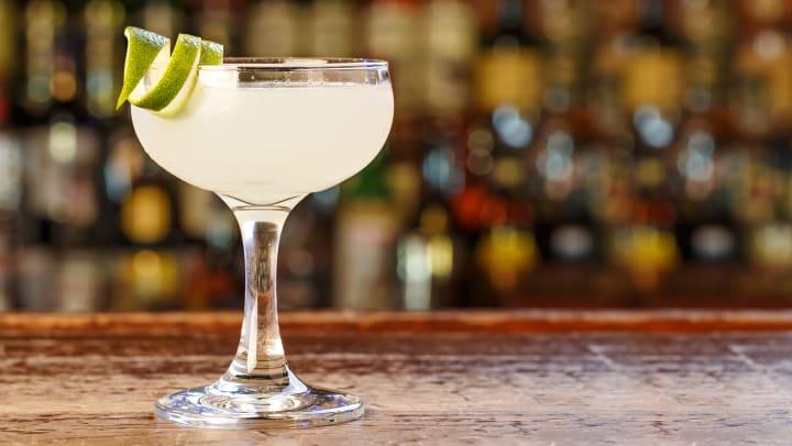 Margarita glass photo for blog post at Tacara at Westover in San Antonio, Texas
