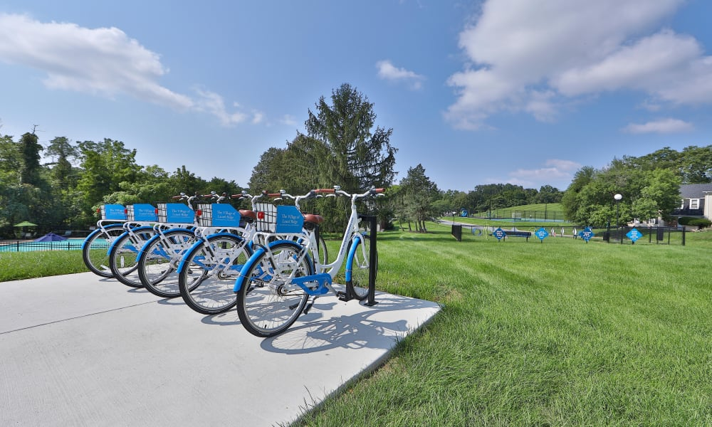 Bike Share at The Village of Laurel Ridge & The Encore Apartments & Townhomes in Harrisburg, Pennsylvania