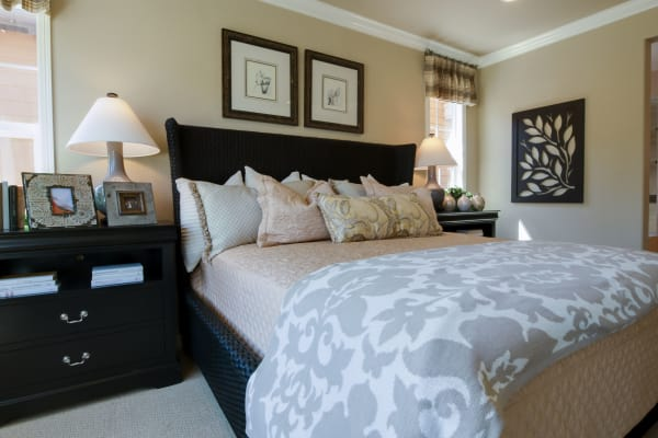 Bedroom at Brightwater Senior Living of Tuxedo