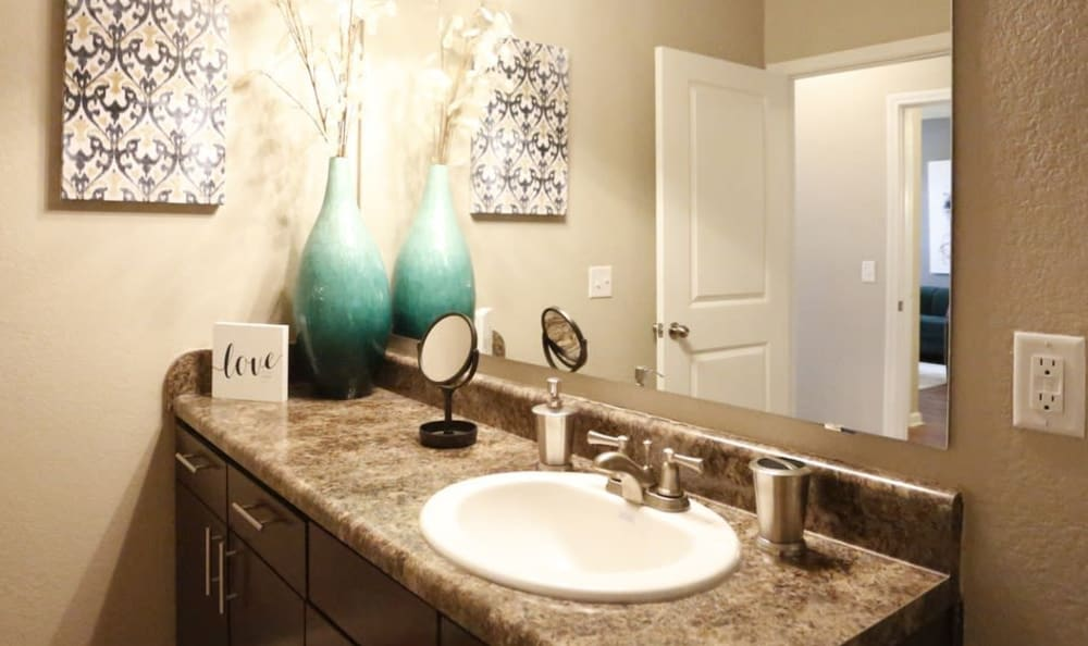 bathroom at Springs at Country Club Apartments in Lake Charles, LA