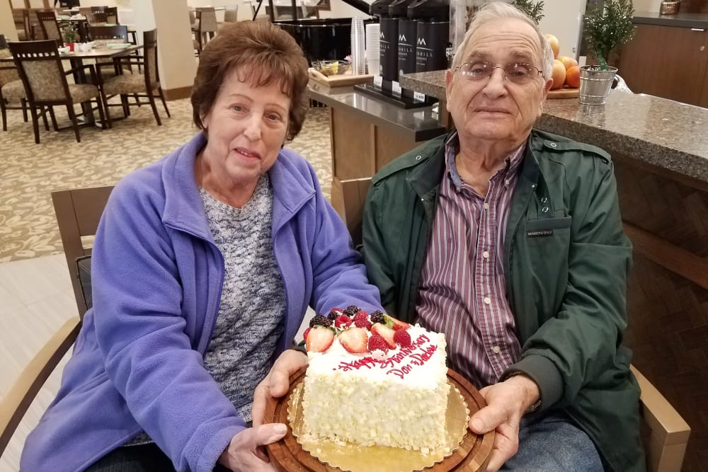 65th Wedding Anniversary celebration at Rancho Cucamonga Merrill Gardens