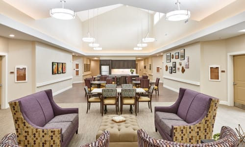 Lobby at Battle Creek Memory Care in Salem, Oregon