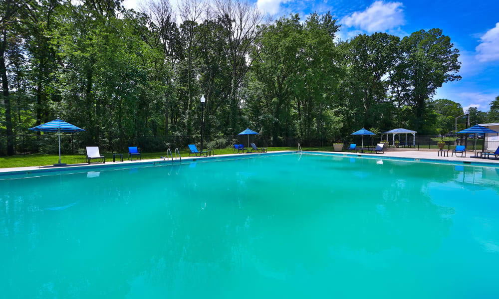 Swimming Pool at The Reserve at Greenspring in Baltimore, Maryland