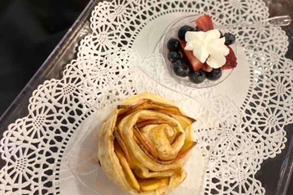 Delicious treats at Keystone Villa at Fleetwood in Blandon, Pennsylvania
