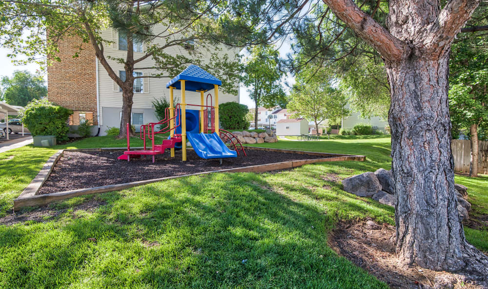 Playground at Cherry Lane Apartment Homes in Bountiful