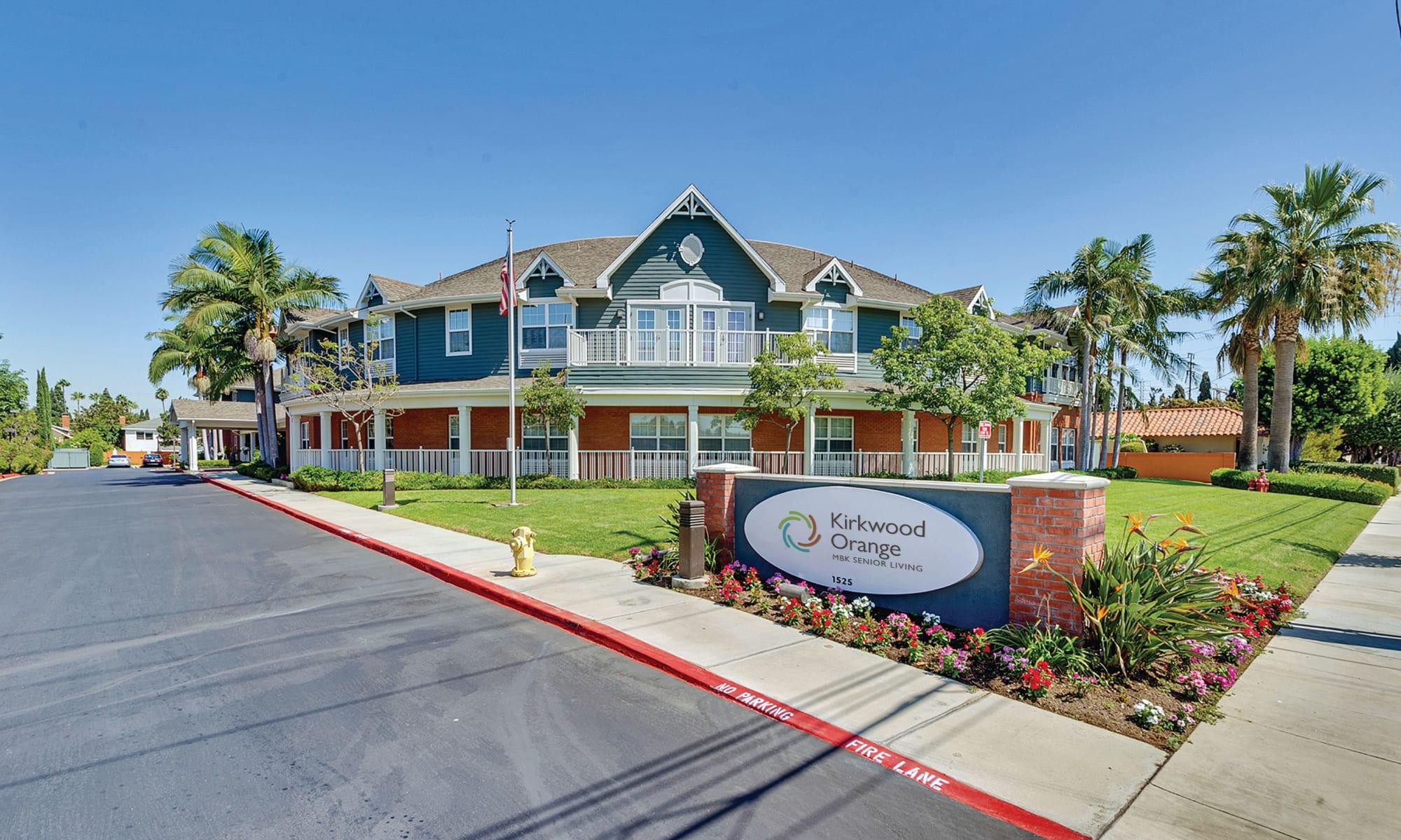 Senior living at Kirkwood Orange in Orange, California