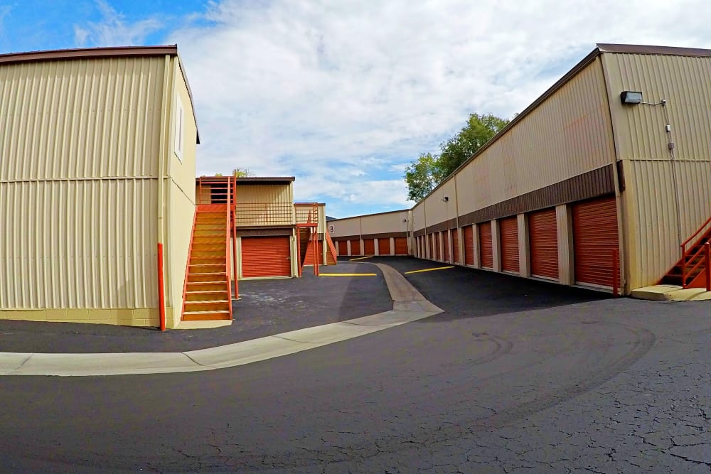 External view of Stor It Self Storage in Prescott
