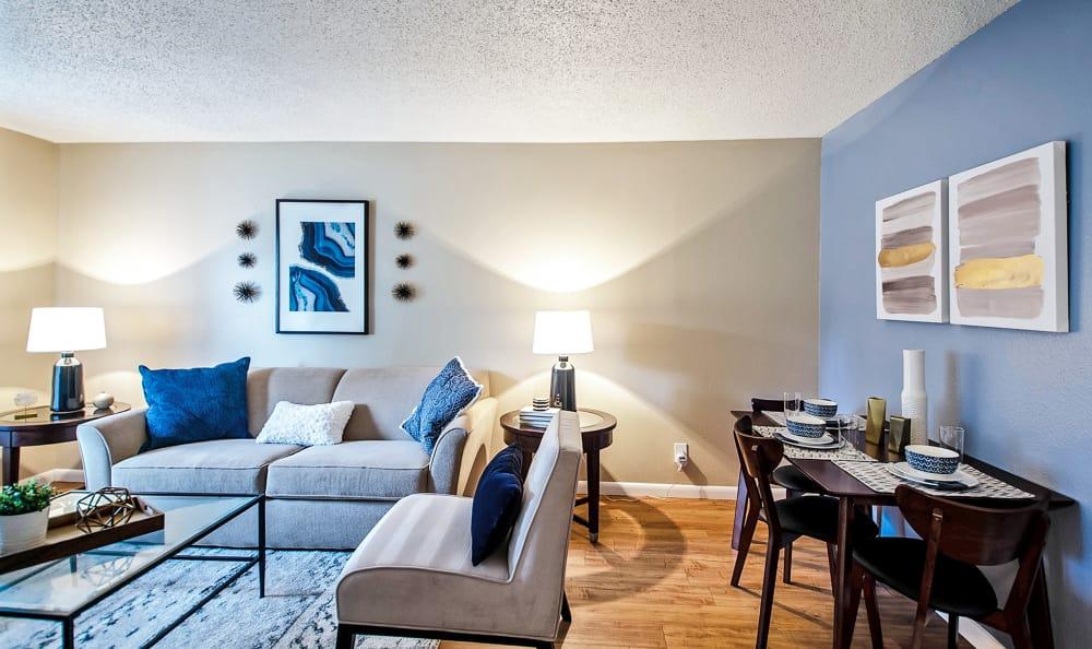 Living Room area at Broadmoor Ridge Apartment Homes in Colorado Springs, Colorado