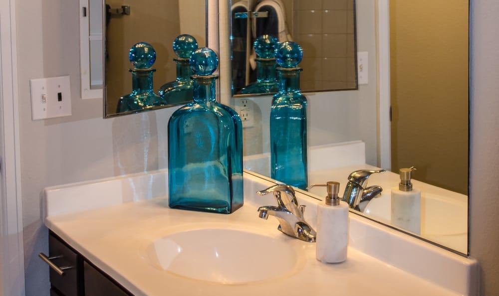 Bathroom at Bear Valley Park in Denver, Colorado