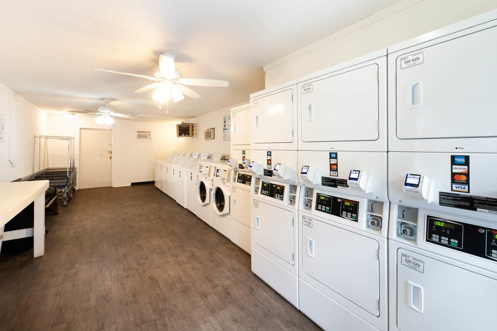 Laundry facility at Riverside North in Chattanooga, TN
