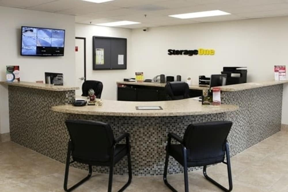 Front office of StorageOne Maryland Pkwy & Tropicana