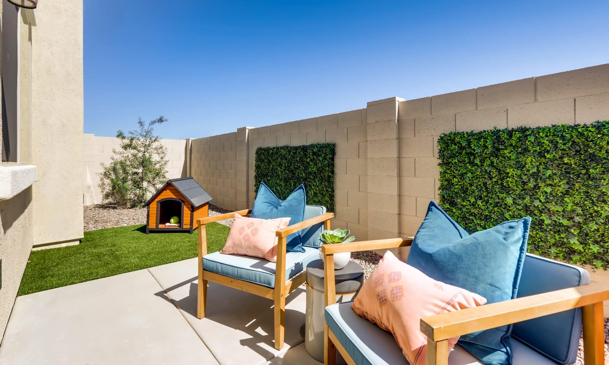 Apartment homes at Avilla Enclave in Mesa, Arizona