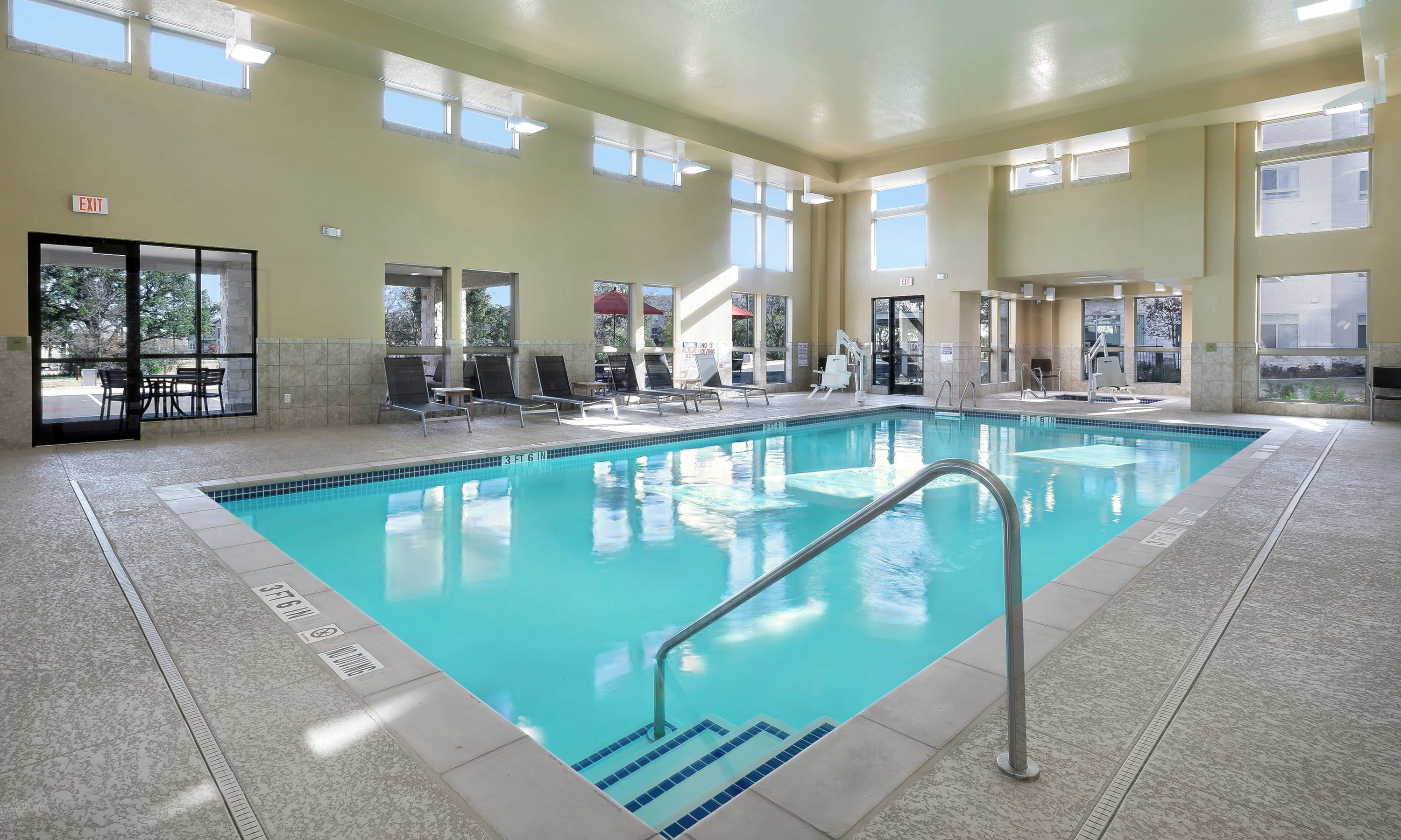 Indoor Pool at Affinity at Round Rock