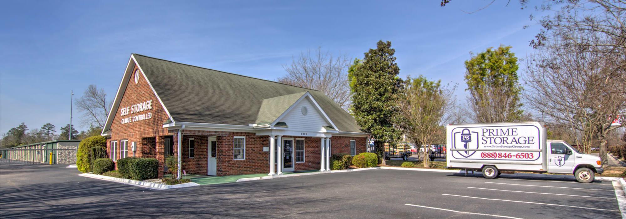 Prime Storage in Aiken, SC