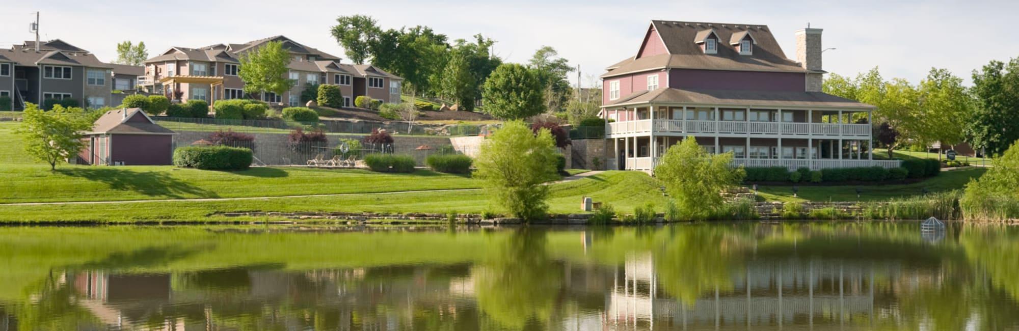Kansas City, Missouri, apartments at Timber Lakes Apartment Homes