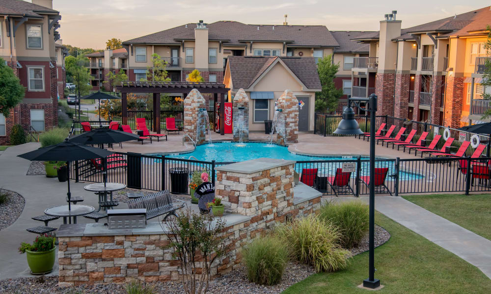 Icon at Norman offers a beautiful swimming pool in Norman, Oklahoma