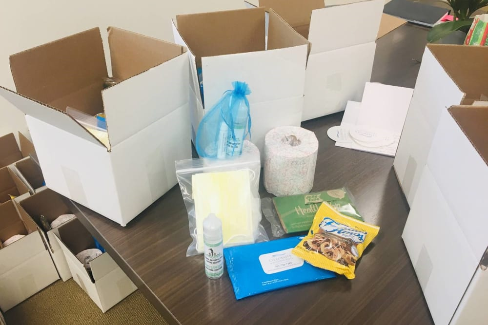 Clearwater care packages