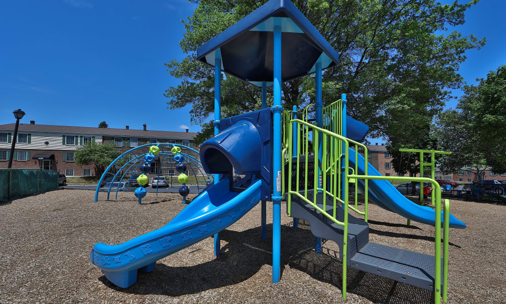 Playground to Eagle's Crest Apartments in Harrisburg, Pennsylvania