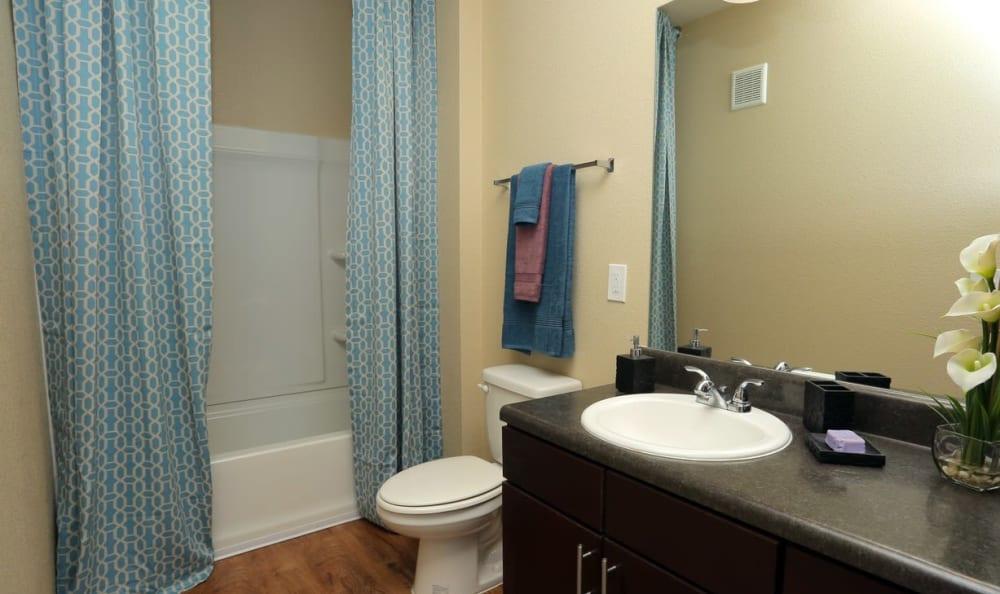 Bathroom at Springs at Memorial in Oklahoma City