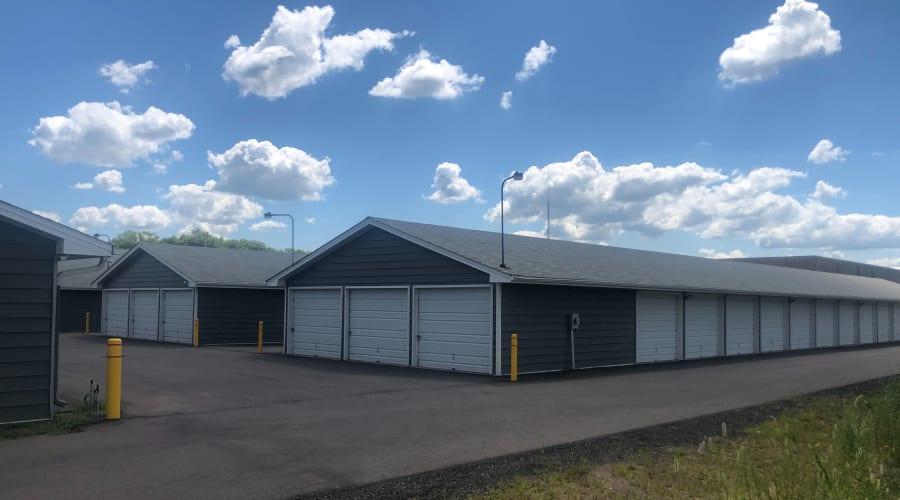Outdoor storage units at KO Storage of Big Lake in Big Lake, Minnesota