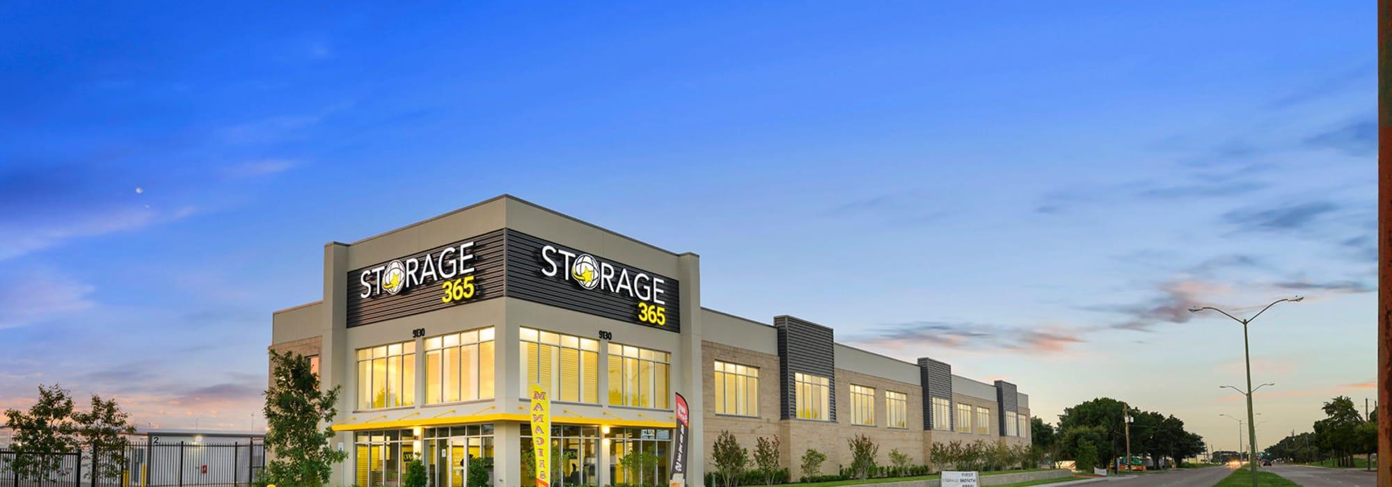 Storage 365 self storage in Dallas, Texas