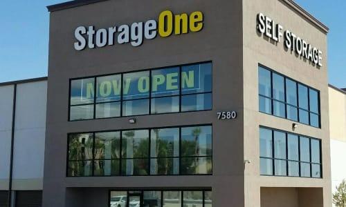 Exterior of StorageOne Blue Diamond & Buffalo in Las Vegas, Nevada