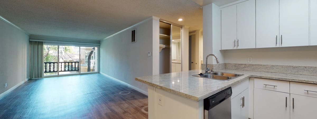 View a virtual tour of our 2 bedroom homes at Casa Granada in Los Angeles, California
