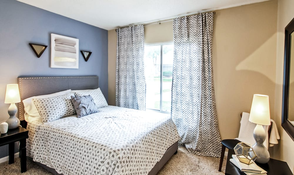 Bedroom at Broadmoor Ridge Apartment Homes in Colorado Springs, Colorado