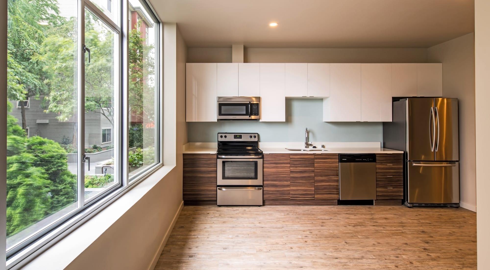 Floor plans at Verse Seattle in Seattle, Washington