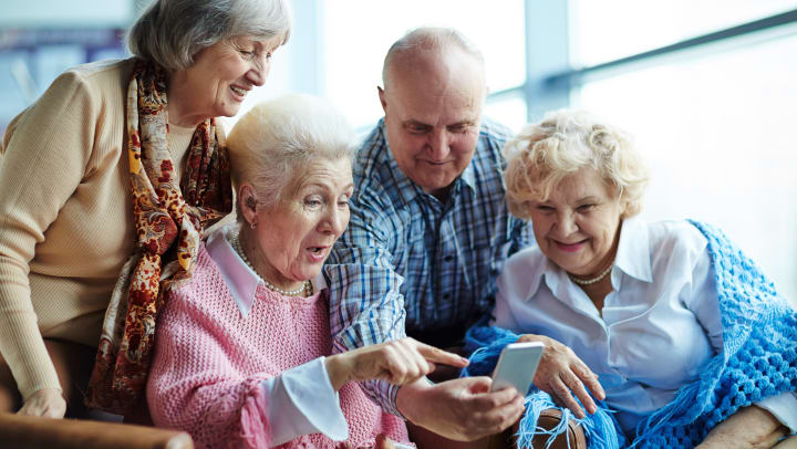 Unknown facts about Seniors Using Technology