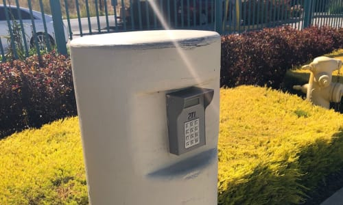 Keypad for gate at Storage Star Fairfield in Fairfield, California