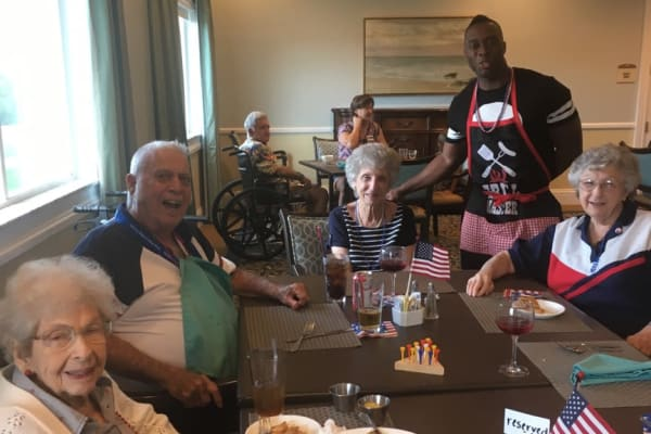 Tampa Palms 4th of July Celebration at Discovery Senior Living in Bonita Springs, Florida