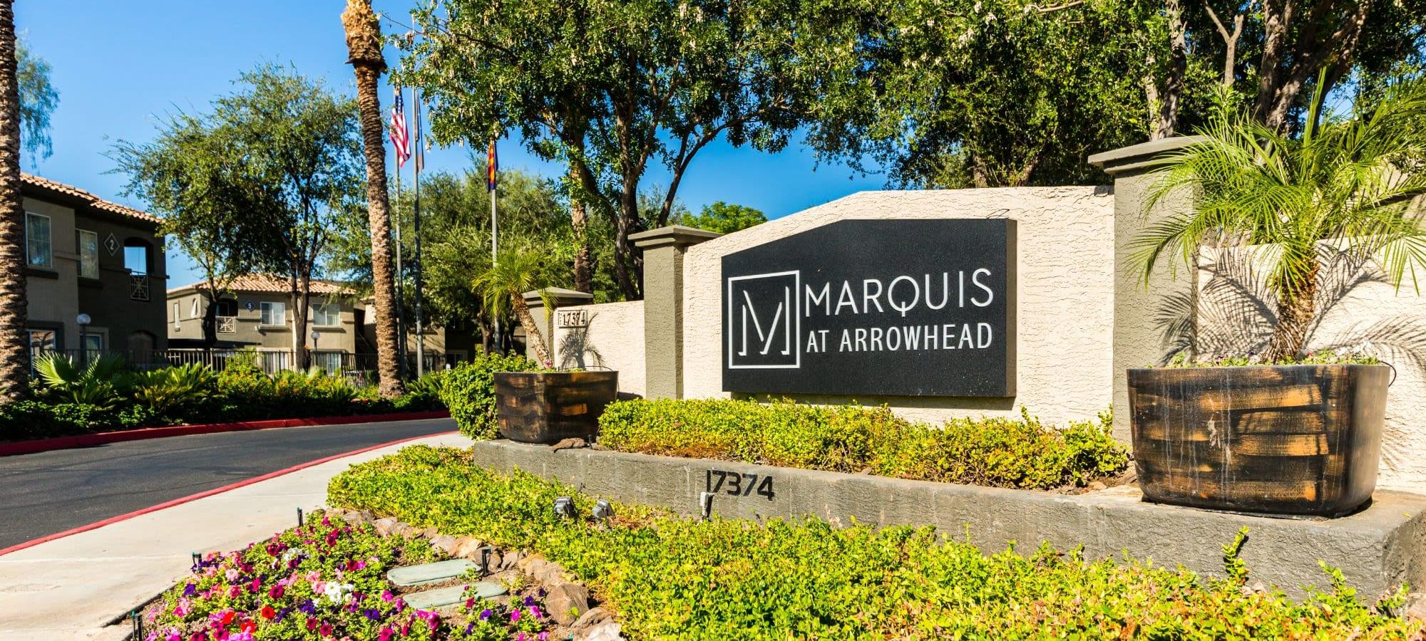 Virtual tours of Marquis at Arrowhead in Peoria, Arizona