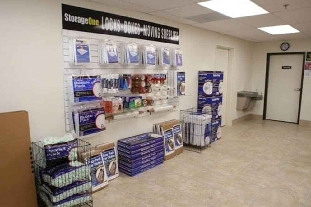 Packing and moving supplies at StorageOne Maryland Pkwy & Tropicana in Las Vegas
