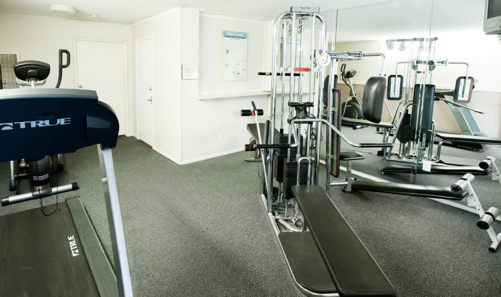 fitness room at The Parkview