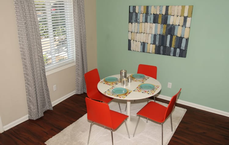 Make your new home at The Broadway at East Atlanta your own; there's plenty of room for your furniture and decorations.