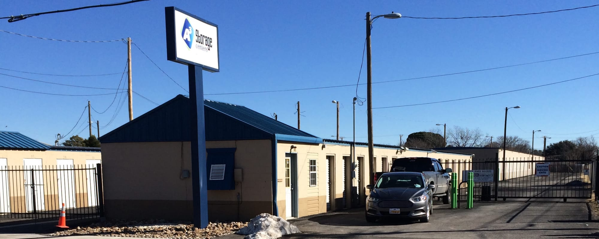Self storage at A3 Storage Centers in Hobbs, New Mexico