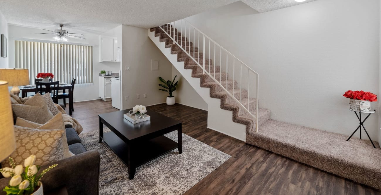 Spacious two story townhome at The Terrace in Tarzana, California