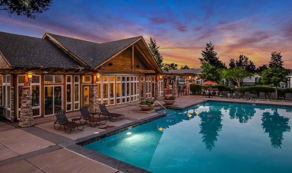 Swimming Pool at Broadmoor Ridge Apartment Homes in Colorado Springs, Colorado