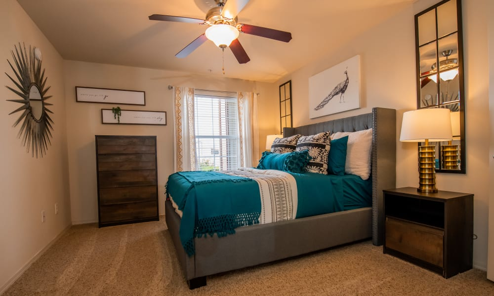 Spacious bedroom at Colonies at Hillside in Amarillo, Texas