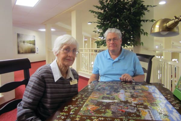 Evelyn R. Dean at Liberty Heights Gracious Retirement Living in Rockwall, Texas