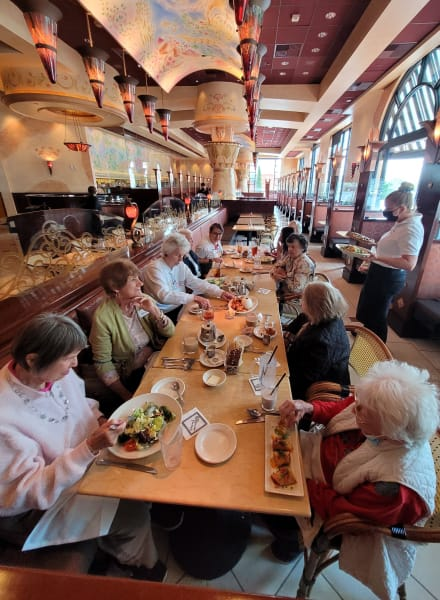 Huntington Beach residents went out for lunch to The Cheesecake Factory!