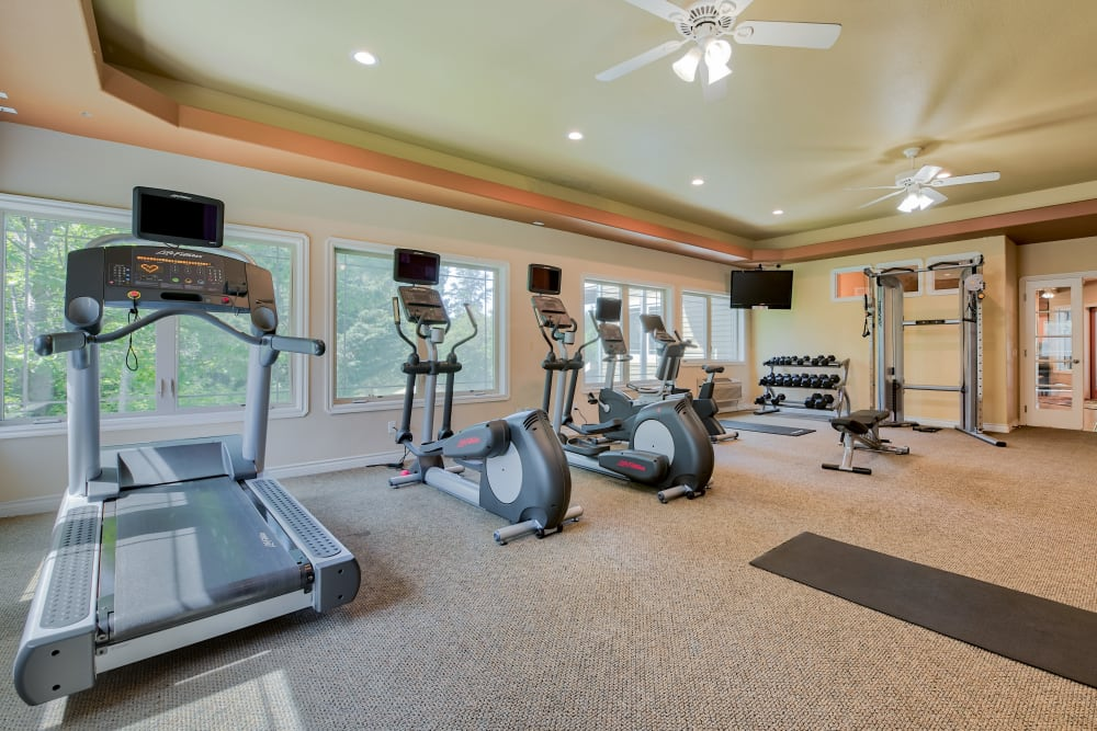 Fitness Center / Gym at Aravia Apartments in Tacoma, WA
