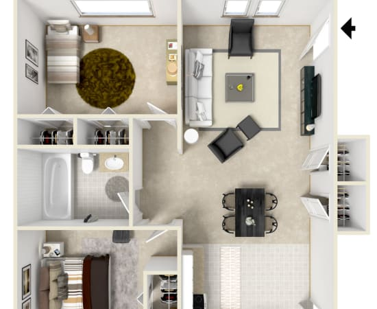 Floor Plans at Coachlight Village in Agawam