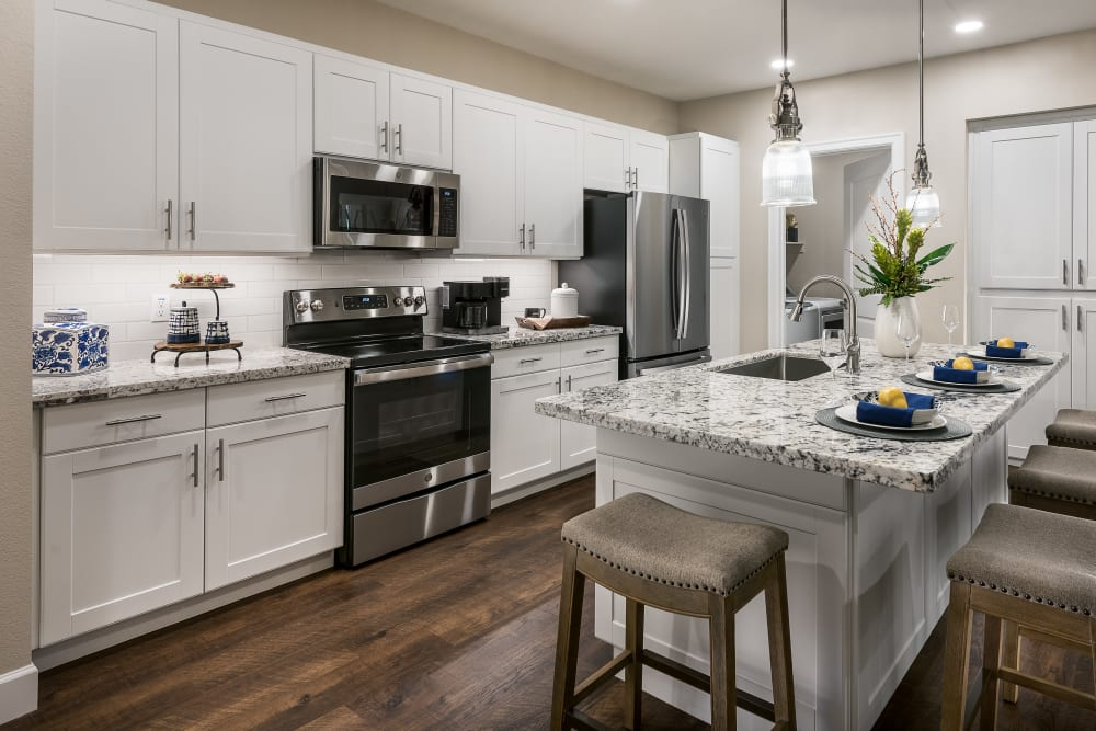 Energy-Efficient, Stainless-Steel Appliances at San Artes in Scottsdale, Arizona
