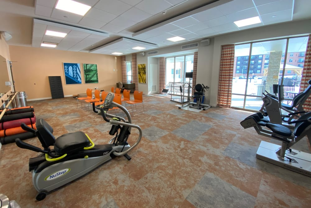 Fitness Room at Aspired Living of La Grange