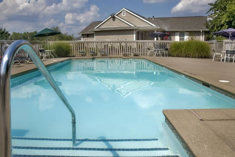 Swimming pool at Meadow Wood Apartments in Smyrna, Tennessee
