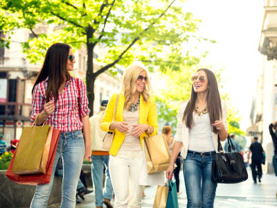 Shopping near apartments at Imperial Gardens Apartment Homes in Middletown, New York